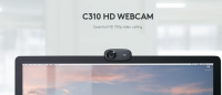 Logitech HD Webcam C310 With Microphone For PC