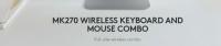 Logitech MK270 Wireless Combo ( Keyboard and Mouse )